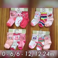 Kaos Kaki (socks) carter 3 in 1 Girl 6-12 months IPNU