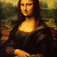 Lukisan Canvas Digital Print monalisa 50x75 cm