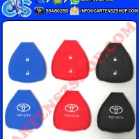 Silicone Cover Remote Toyota 2 Tombol Mobil Toyota Innova, Vios, Yaris, Altis, Fortuner, Dll