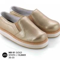 harga Sepatu Flat Anak Perempuan Everflow ND 01 Emas - Everflow Flats Tokopedia.com