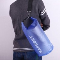 Safebag Outdoor Drifting Waterproof Bucket Dry Bag 5 Liter - Blue B299