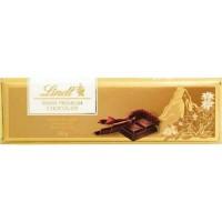 Lindt Swiss Premium Gold Bar Dark Chocolate 300g Cokelat Coklat Import