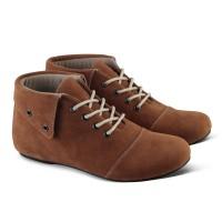Varka V210 Sepatu Boot Casual Flat Wanita untuk kerja, kuliah, santai