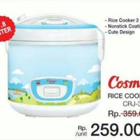 Cosmos Rice Cooker 3in1 CRJ 3303 CRJ3301