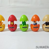Mainan / Pajangan Angry Bird Telur