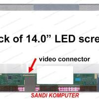 LCD LED Dell Vostro 1014 1088 1440 2421 3450 PP38L 14.0 inch tebal