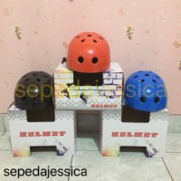 Helm Anak Batok Warna Adjustable (Sepeda, Sepatu Roda, Skateboard)