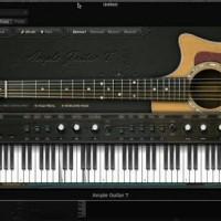 Ample Sound Guitar AGT Accoustic