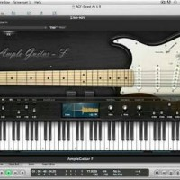 Ample Sound Guitar Fender AGF