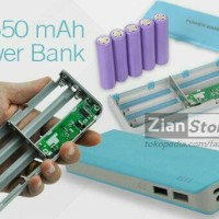 Exchangeable Cell Power Bank powerbank case casing 5pc