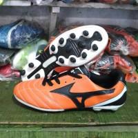 harga Sepatu Bola Mizuno - Orange/Black Tokopedia.com