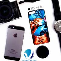 Custom Case iPhone 4, 5, 5C, 6, 6 Plus Mega Blaziken VS Mega Lucario