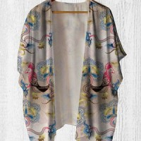 Cardigan Wanita - Kimono Outer DD0220