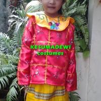 Baju Adat Kostum Anak Wanita  Daerah Palembang