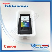 Cartridge Kosongan Canon CL-98 (katrid,catrid, katrit,color,warna,98)
