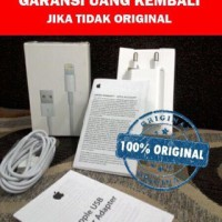 charger + kabel iphone 5 5s 5c 6 6+ 6s plus ORIGINAL GARANSI 1 bulan