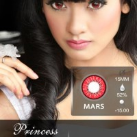 ORIGINAL Softlens Blythe Eye / Princess Universe Red (Merah)