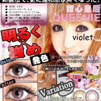 Original Softlens Queenie Super Angel Violet (ungu)