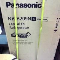 Panasonic Kulkas NRB209NS Alowa Lemari Es Low Watt Asli, Baru,Garansi