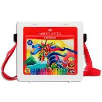 Hexagonal Oil Pastel 60 Pcs (#120100) / Crayon Faber Castell