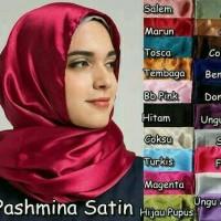 Pashmina Satin/Pasmina Saten/Kerudung Satin
