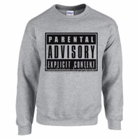 Sweater Parental Advisory D0VO