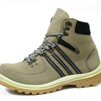 Sepatu Adidas 60D Safety Boots Green Pria Adventure Kerja Outdoor