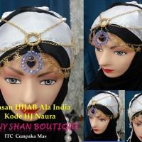Hiasan Hijab ala india kode Naura
