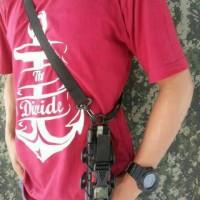 sarung hp prince pc 9000/brandcode selempang outdoor
