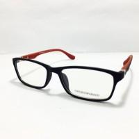 harga Frame Kacamata Pria Minus Murah Emporio Armani 7626 Hitam Merah Tokopedia.com