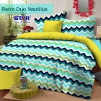 Sprei Star Retro Duo Nautilus Ukuran 120x200