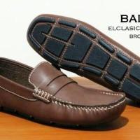 PROMO FREE ONGKIR AGUSTUS! sepatu casual formal kulit asli bally slop