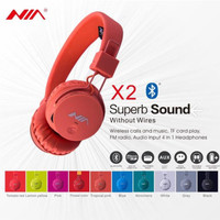 Headphone Bluetooth Nia - X2