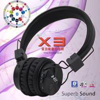 Headphone Bluetooth NIA - X3