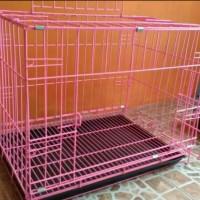 harga kandang besi lipat tebal untuk kucing kelinci anjing ayam tupai dll Tokopedia.com