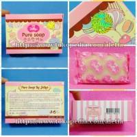 Jual GLUTA PURE SOAP by JELLY 100% ORIGINAL THAILAND, Sabun Pemutih Badan Murah