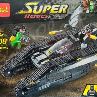 lego batman bat tank decool 7108 with batman and riddler minifigure