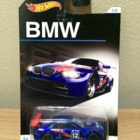 Hot Wheels BMW M3 GT2 Blue BMW Series Walmart Exclusives