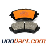 Brake Pad Kampas Rem Depan All New Vios / All New Yaris 2015 Metalic