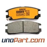 Brake Pad Kampas Rem Belakang Mitsubishi Galant V6 / Vr / Hiu Ceramic