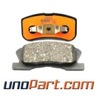 Brake Pad Kampas Rem Depan Toyota Agya / Ayla Matic Metalic