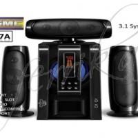 harga Speaker GMC 887A 150 Watt USB, SD CARD, REMOTE, RADIO, MIC 2 Tokopedia.com