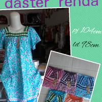 Daster batik renda ECER /daster abg cantik murah adem/Baju wanita