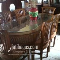 Meja Makan Keranjang Balero
