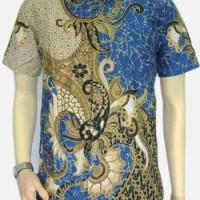 kemeja batik labirin (biru)