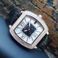 harga Gucci Jam Tangan Trendy Fashion Cewek / Wanita Kulit White Dark Brown Tokopedia.com