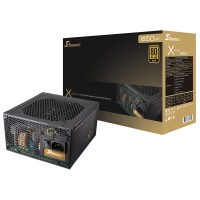 Seasonic X650 650W Full Modular - 80+ Gold Certified - 7 Years Warrant