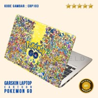 Garskin/Skin Laptop/Garskin Vapor/Laptop Asus-Pokemon Go 3