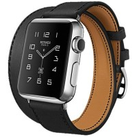Jam Tangan Hoco Art Genuine Real Leather Strap for Apple Watch 42mm