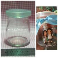 harga glass bottle botol kaca display figure dekorasi clay bahan craft Tokopedia.com